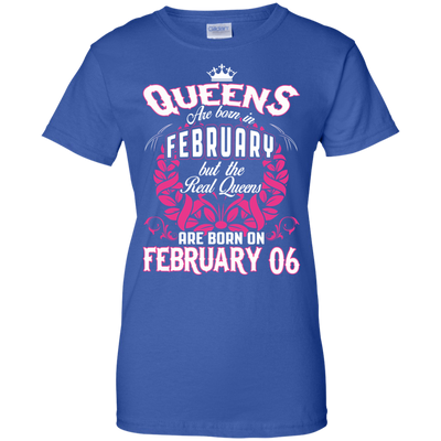 #1 The real queens are born on February 6