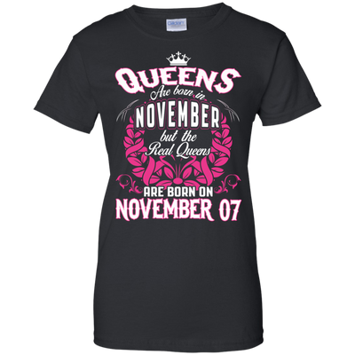 #1 The real queens are born on november 07