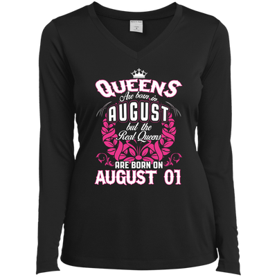 #1 The real queens are born on august 01