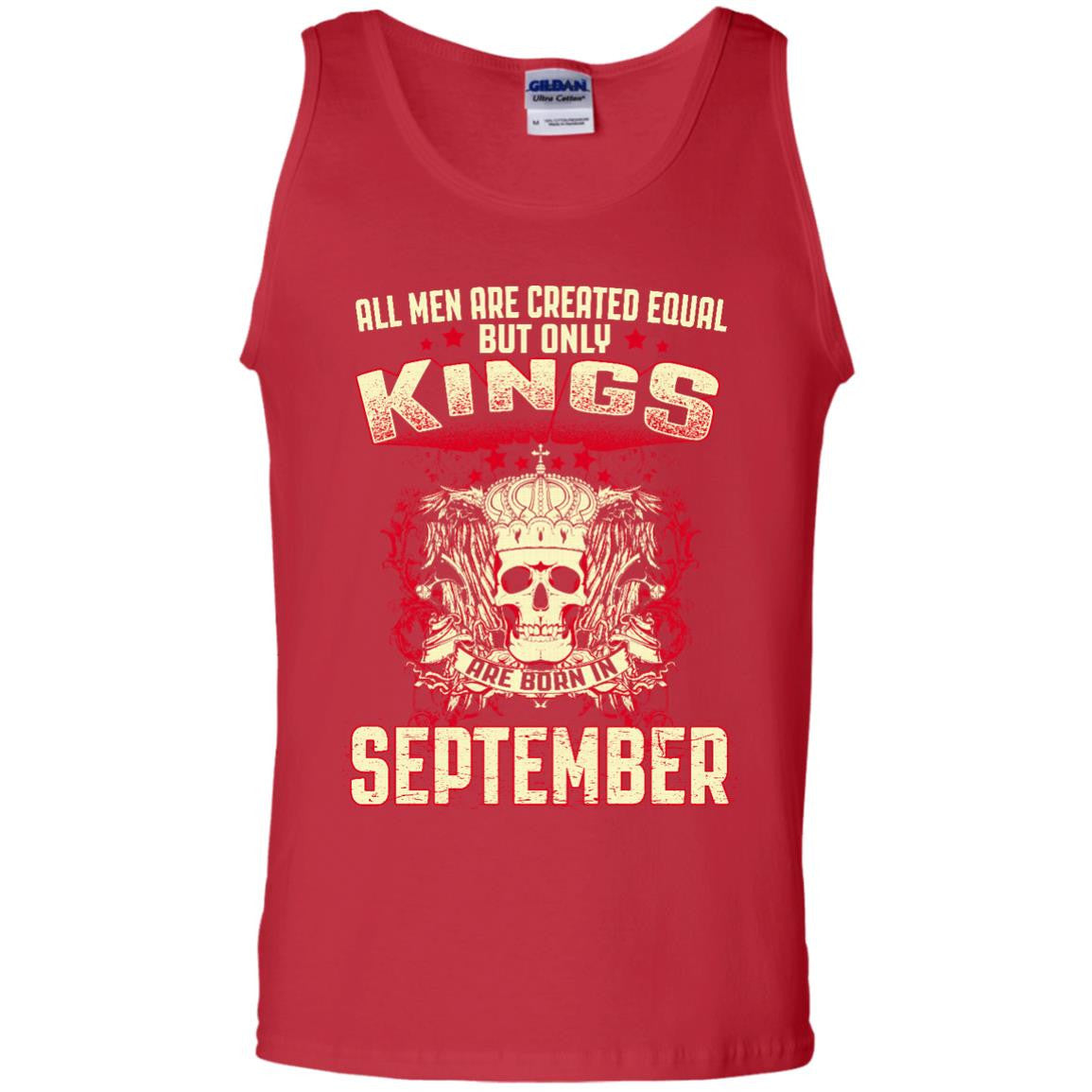 T-shirt All men are created equal but only legends were born in september BB111