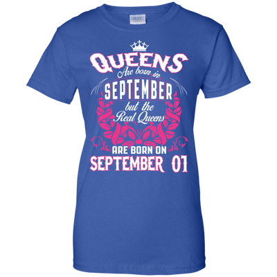 #1 The real queens are born on september 01