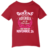 #1 The real queens are born on november 26