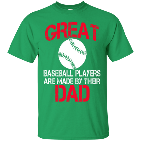 Great Baseball Player Are Made By Their Dad