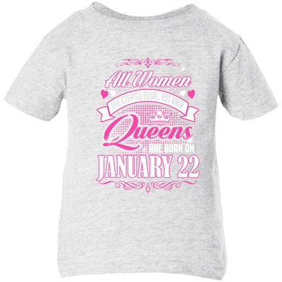 0004 only queens are born on january 22