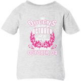 #1 The real queens are born on october 04