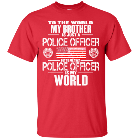 My Brother The Police Officer Is My World 5139