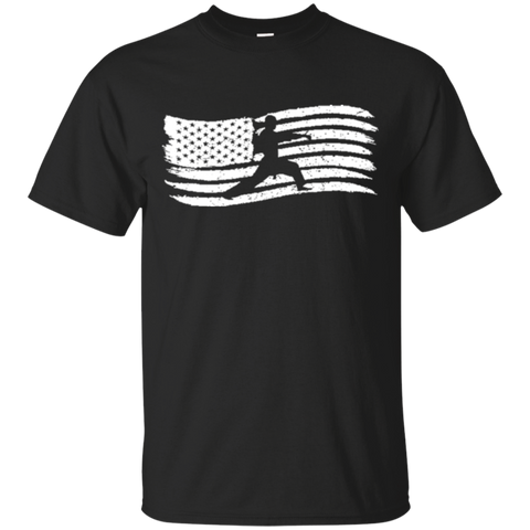American Flag TShirt For Kids With Karate Boy Patriotic 6568