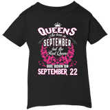 #1 The real queens are born on september 22