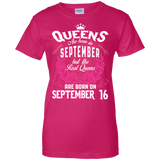 #1 The real queens are born on september 16