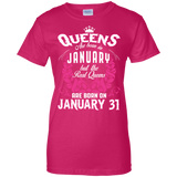 #1 The real queens are born on January 31