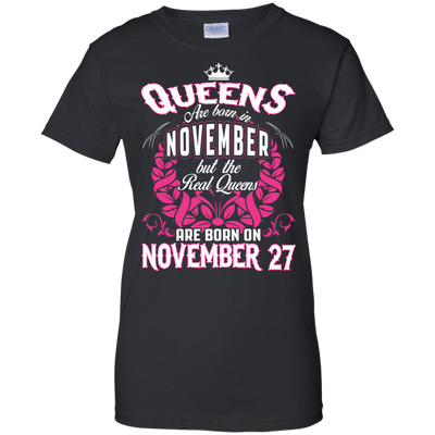#1 The real queens are born on november 27