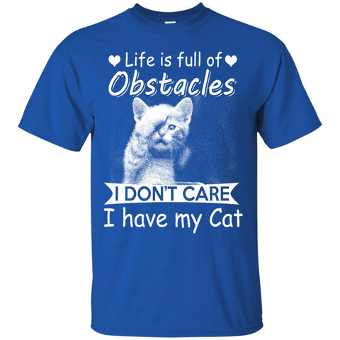 Life is full of obstacles...- cat