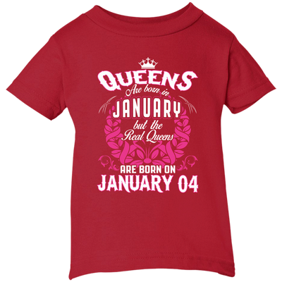 #1 The real queens are born on January 4