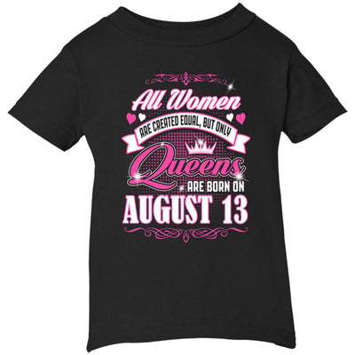 0004 only queens are born on august 13