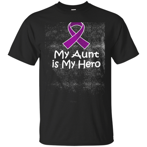 Alzheimers Lupus Pancreatic Cancer Aunt Is My Hero Womens T Shirts Womens T Shirt 5984
