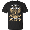 @1 The real kings are born on july 29