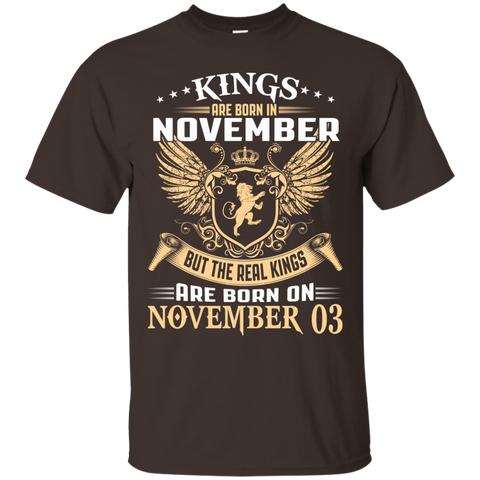 @1 The real kings are born on november 03