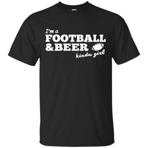 Football Beer Kinda Girl 2233