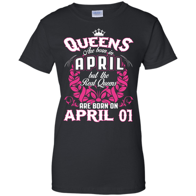 #1 The real queens are born on april 01