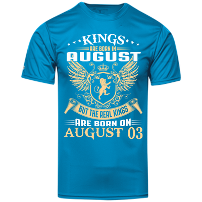 @1 The real kings are born on august 03