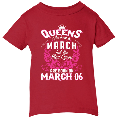 #1 The real queens are born on March 06