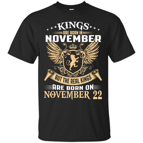 @1 The real kings are born on november 22
