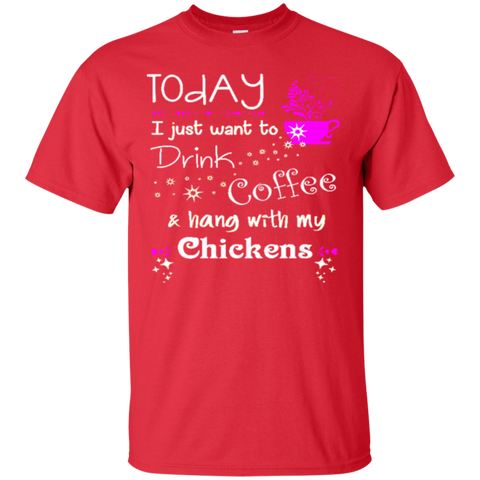 Drink Coffee and hang with Chickens 3894