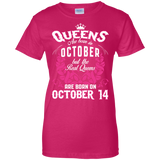 #1 The real queens are born on october 14