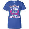 #1 The real queens are born on april 08
