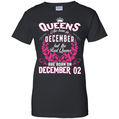 #1 The real queens are born on december 02
