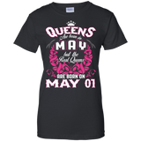 #1 The real queens are born on may 01