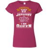 Kaa - aw - Queens are born on january 09
