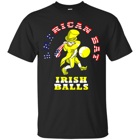 Irish American Baseball Themed T-shirt 1995