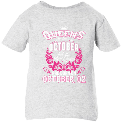 #1 The real queens are born on october 02