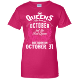 #1 The real queens are born on october 31