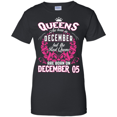 #1 The real queens are born on december 05