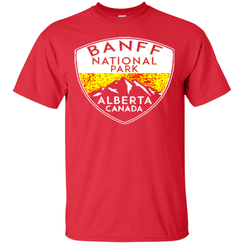 BANFF NATIONAL PARK ALBERTA CANADA Skiing Ski Mountain Mountains Snowboard Boating Hiking 6 T-Shirt CHRISTMAS UGLY SWEATER 1459