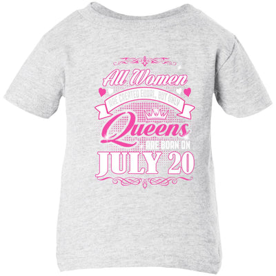 0004 only queens are born on july 20