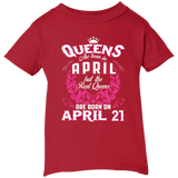 #1 The real queens are born on april 21