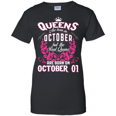 #1 The real queens are born on october 01