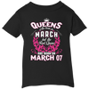 #1 The real queens are born on March 07