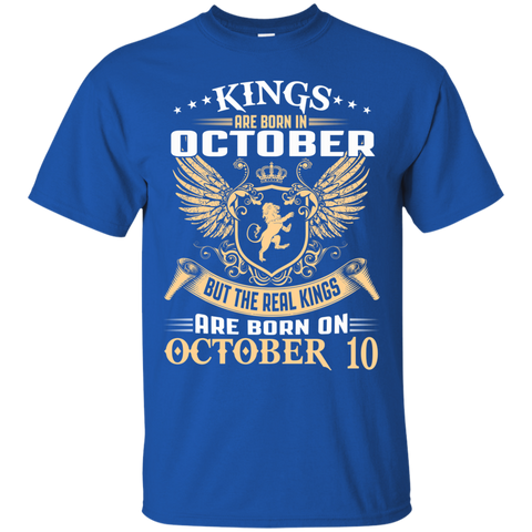 @1 The real kings are born on october 10