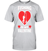 Fishing Is My Valentines Day Hobby Holiday
