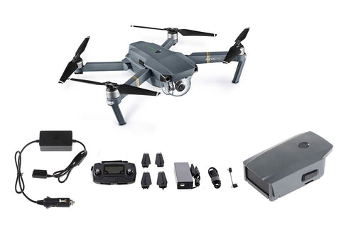 DJI Mavic Pro Drone + Extra Battery + Car Charger Bundle - DRONECLOTHES