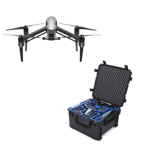 DJI Inspire 2 Quadcopter With GPC Inspire 2 Landing Mode Case Bundle - DRONECLOTHES