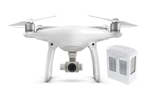DJI Phantom 4 Quadcopter + Extra Battery - DRONECLOTHES