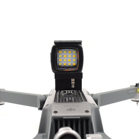 3D Printed LED Light for DJI Mavic Pro - DRONECLOTHES