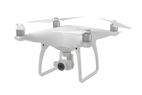 DJI Phantom 4 Quadcopter 4K Drone (DJI Refurbished) + 1 Additional Battery - DRONECLOTHES