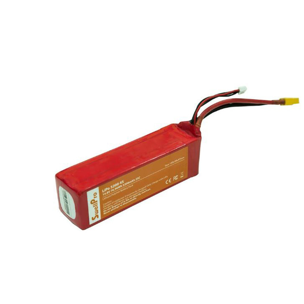 4S 14.8V 5200Mah Lipo Battery - Splash Drone - DRONECLOTHES