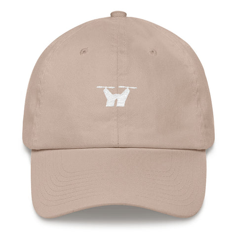 Limited Edition DRONECLOTHES Stone Dad hat - DRONECLOTHES